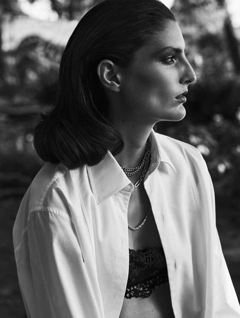 L'officiel Italia hair Chiara Bussei photo Fabio Leidi editorial woman