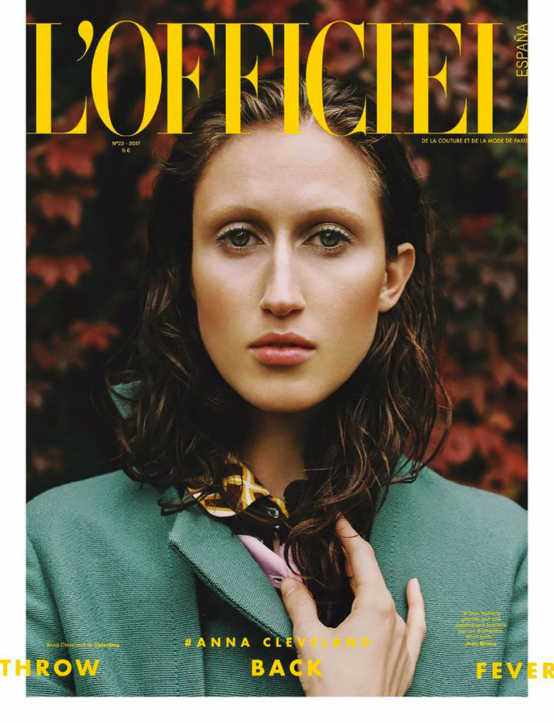 l'officiel spain Photographer Laura Marie Cieplik styling Alba Melendo cover editorial