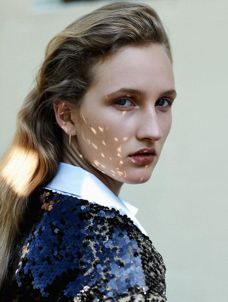 Glare magazine Photographer Giorgio Codazzi hair Chiara Bussei editorial woman
