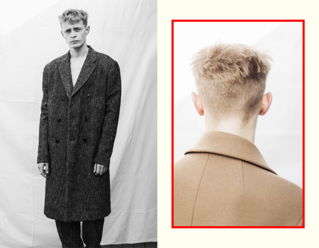 punkt magazine hair Marco Minunno men editorial