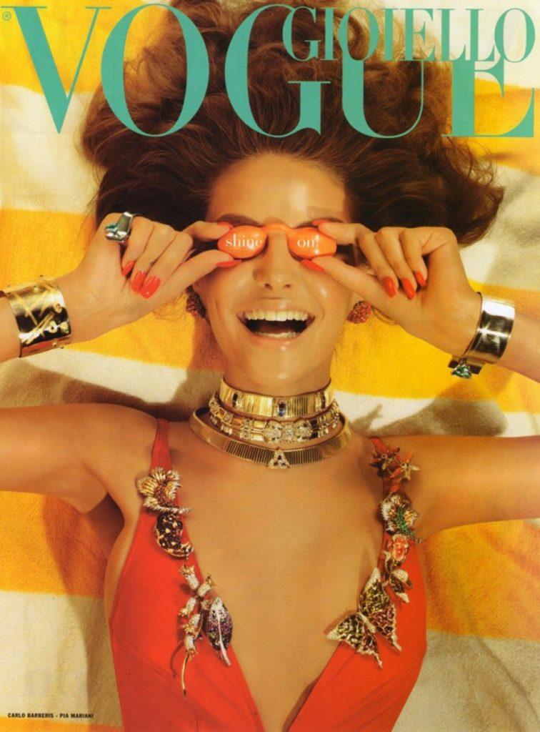Vogue Gioiello hair Davide Diodovich cover