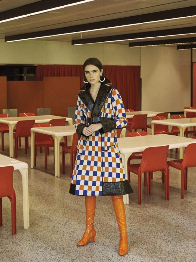 Mojeh magazine Photographer Stefan Giftthaler Hair stylist Chiara Bussei editorial woman