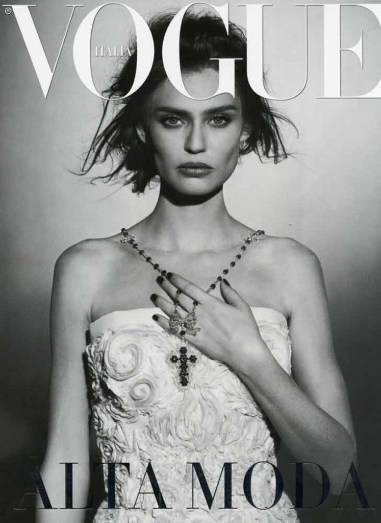 Vogue italia hair Davide Diodovich manicure Carlotta Saettone cover