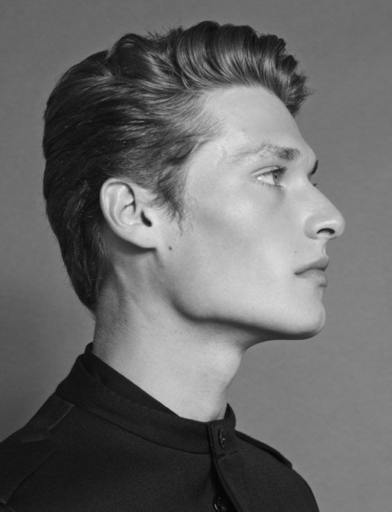 The fashionisto hair Marco Minunno men editorial