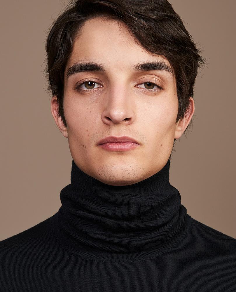 Hermes hair Liv Holst editorial man adv
