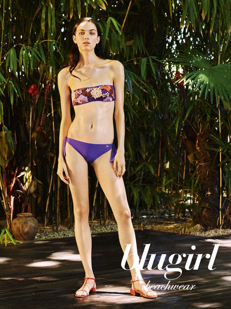 Blugirl Beachwear photo Fabio Leidi make-up Roman Gasser adv