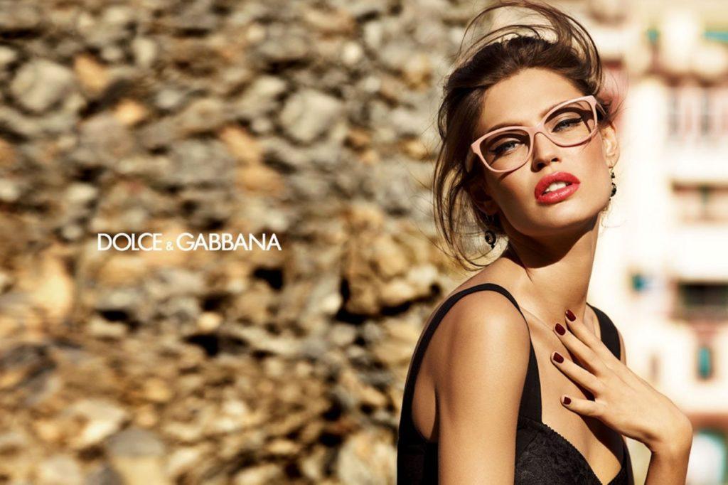 Dolce & Gabbana eyewear hair Davide Diodovich ad