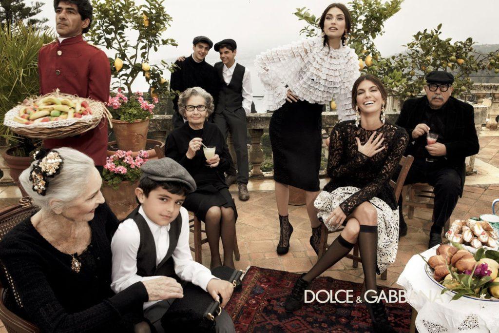 Dolce & Gabbana hair Davide Diodovich ad