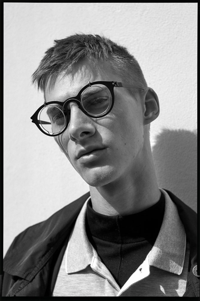Unflop hair Marco Minunno men editorial