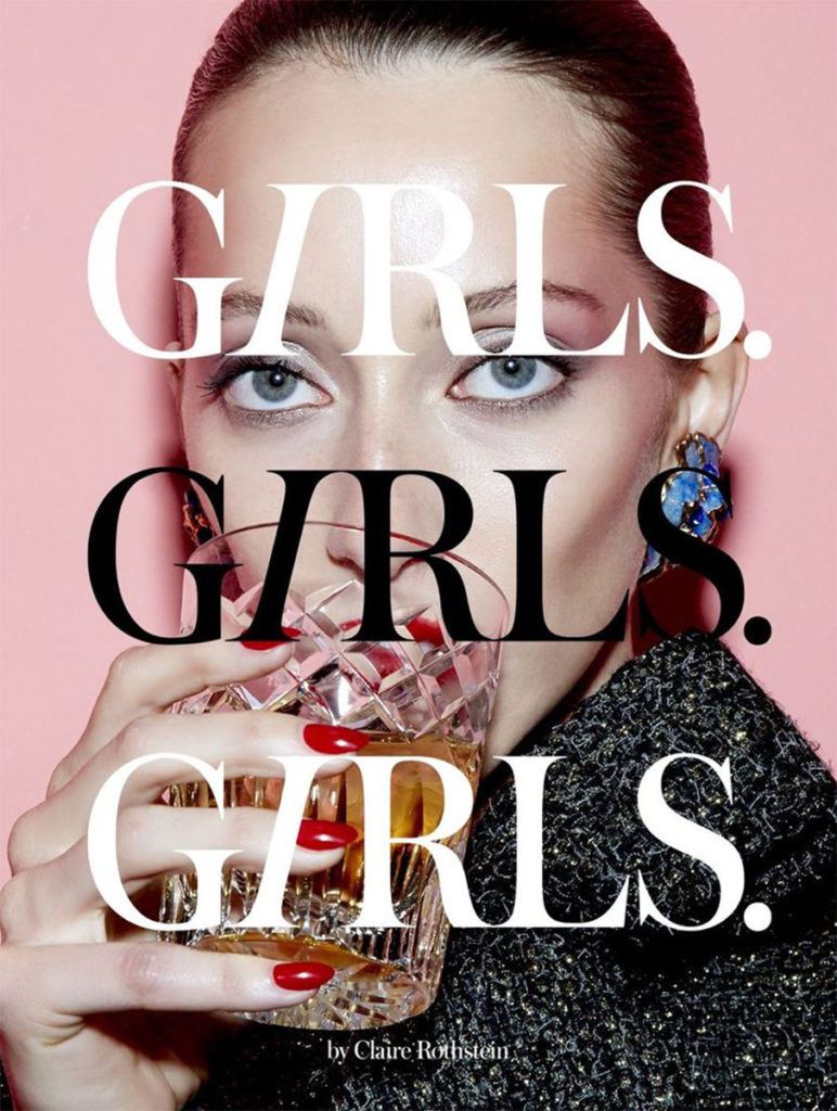 girls girls girls hair Federico Ghezzi cover woman
