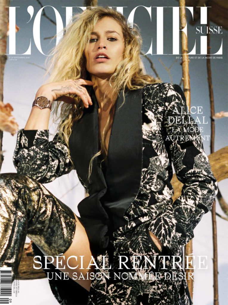 L'official Suisse hair Federico Ghezzi cover woman