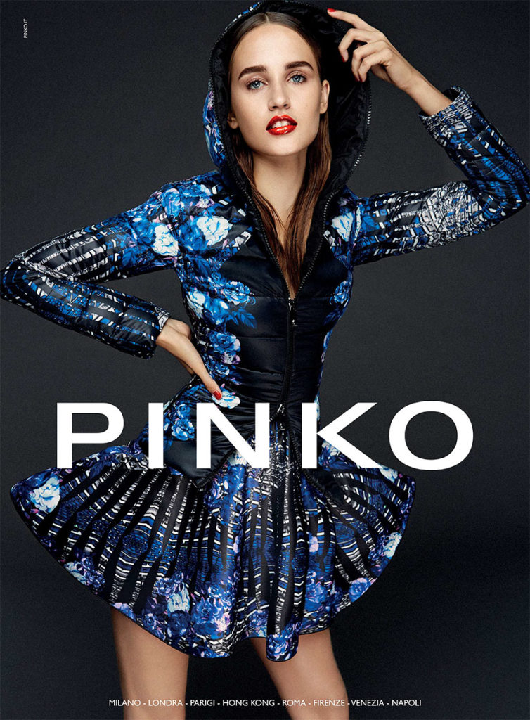 Pinko photo Fabio Leidi adv