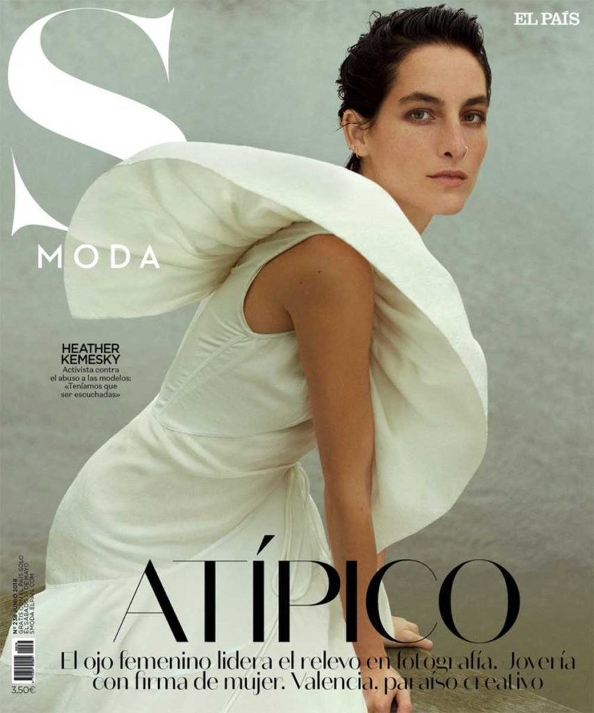 S moda hair Federico Ghezzi cover woman