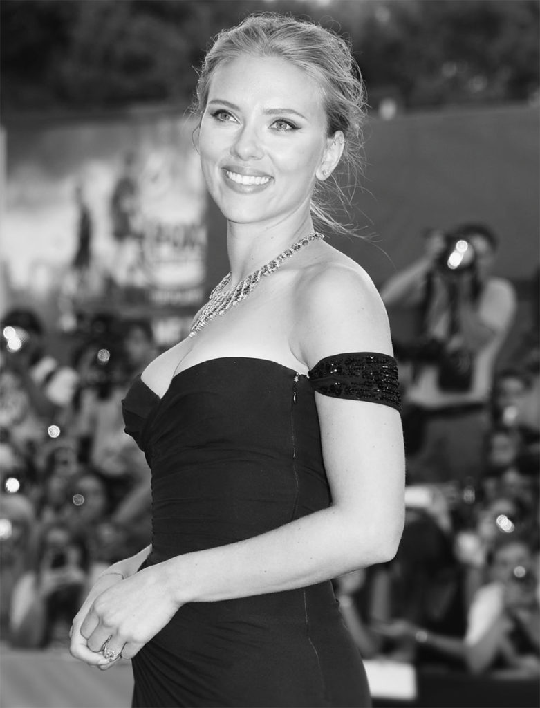 Scarlett Johansson hair Marco Minunno celebrities