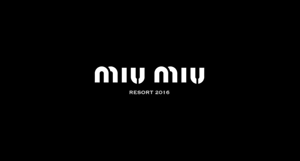 mojeh & Miu Miu Resort styling Alba Melendo video
