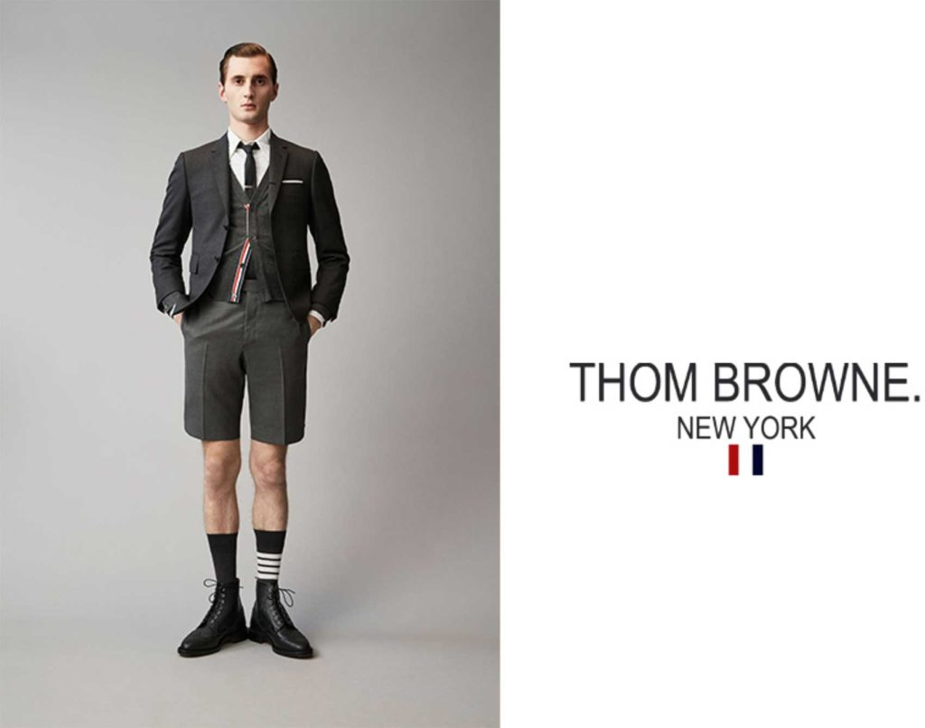 Thom Browne hair Marco Minunno make-up adv