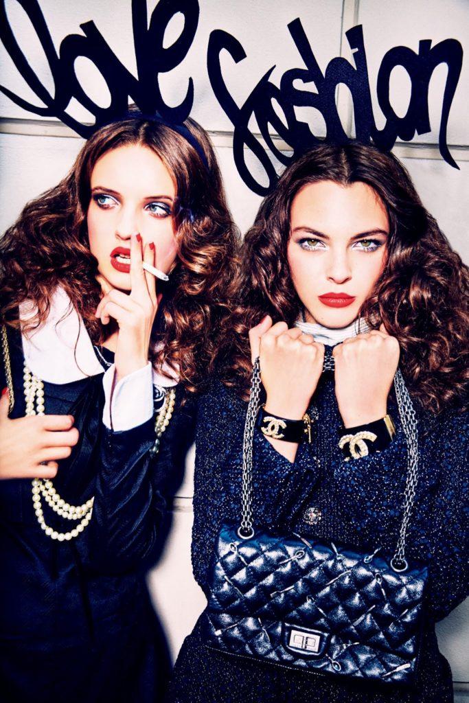 Vogue Japan hair Davide Diodovich woman