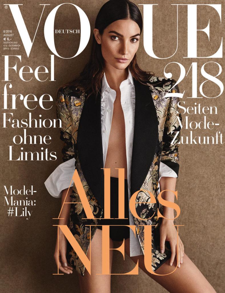 Vogue germany hair Davide Diodovich cover