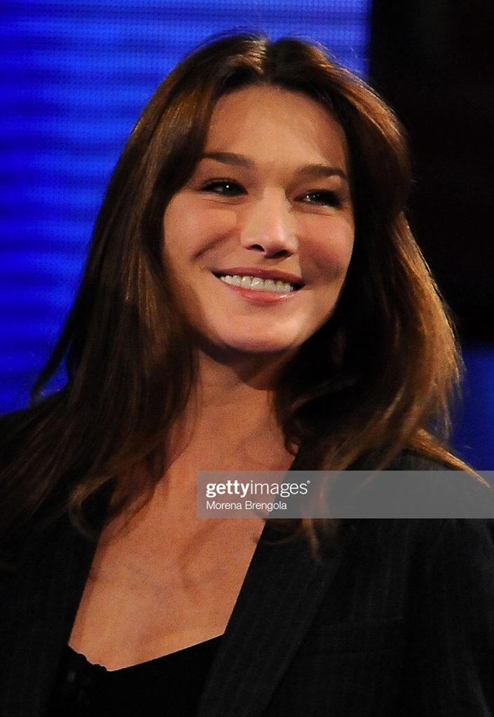 Carla Bruni hair Luca Lazzaro celebrities woman