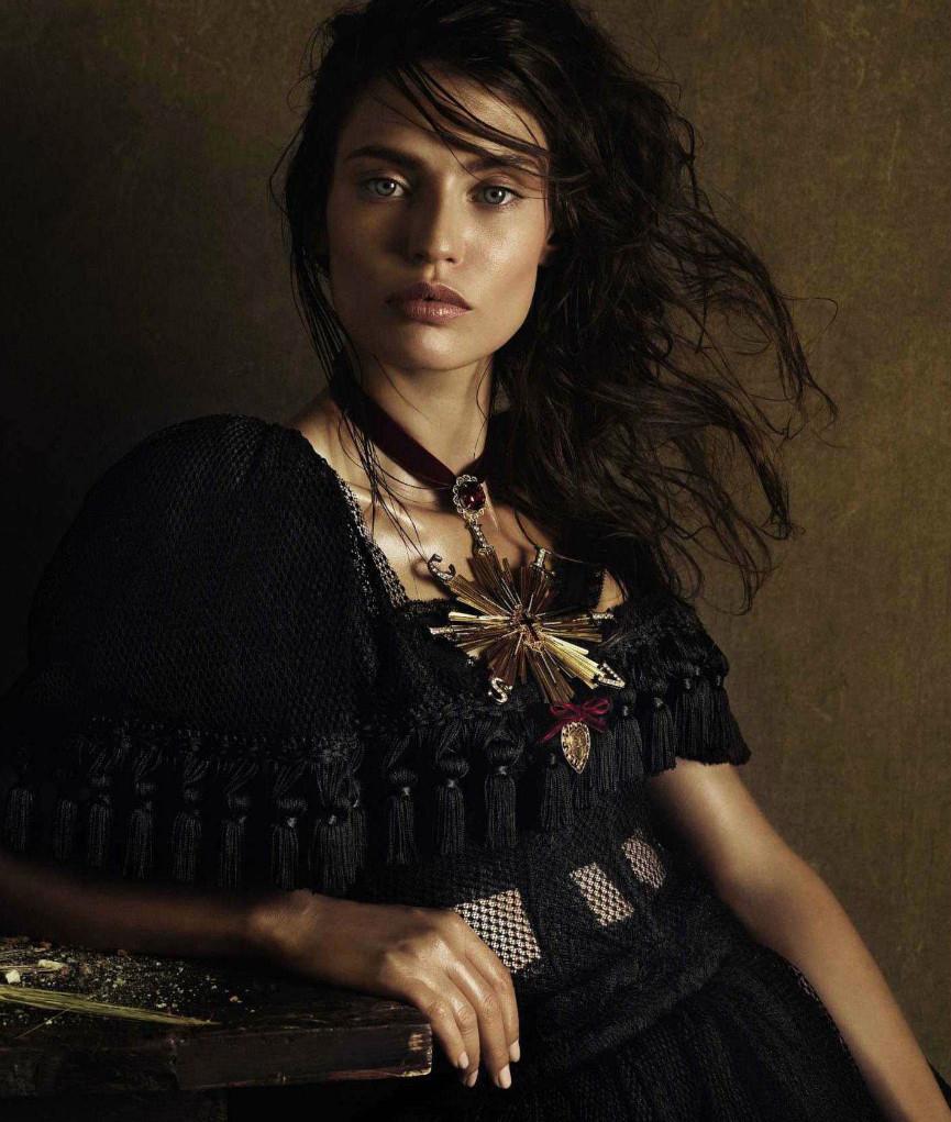 Vogue Spain hair Davide Diodovich woman