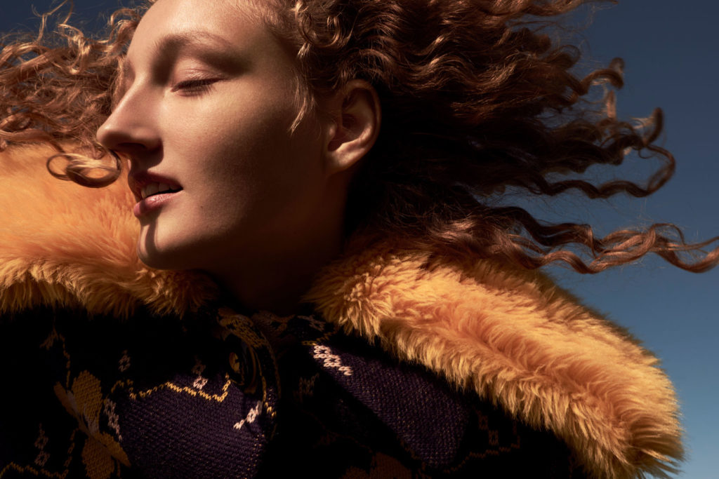 sunday times style hair Federico Ghezzi woman