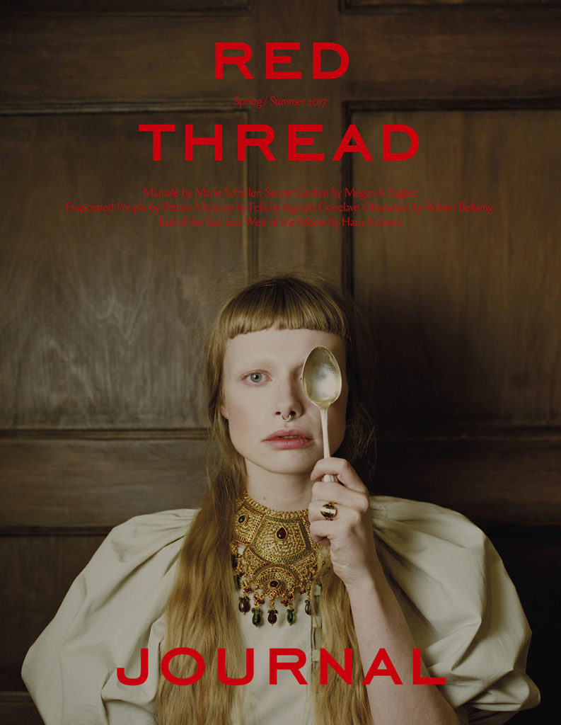 red thread hair Federico Ghezzi cover woman