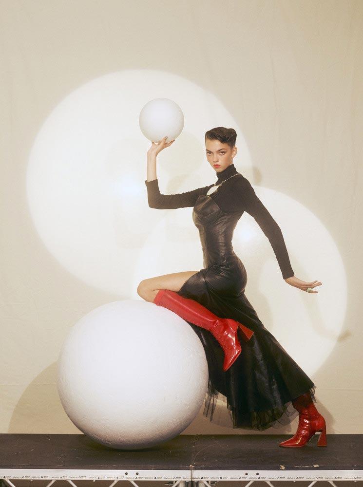L'officiel Paris Photographer Jens Langkjaer Hair stylist Federico Ghezzi cover woman