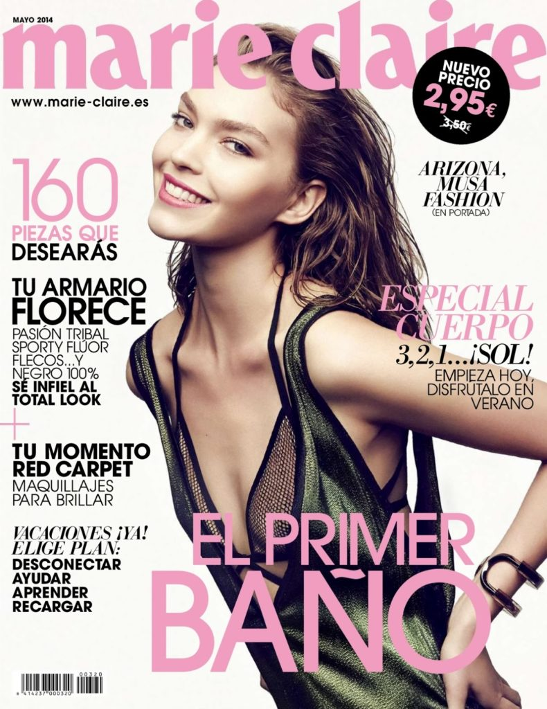 Marie Claire Spain Photographer Danilo Giuliani Styling Enrique Campos Arizona Muse cover