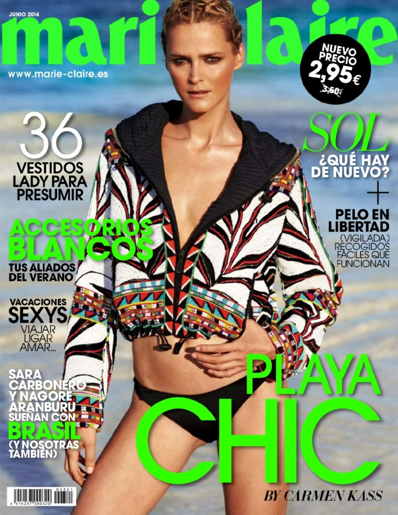 Marie Claire Spain Photographer Philip Gay Styling Enrique Campos Karmen Cass