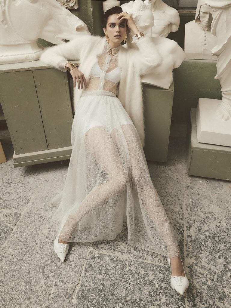 Grazia Photographer Simone Falcetta Stylist Cleo Casini