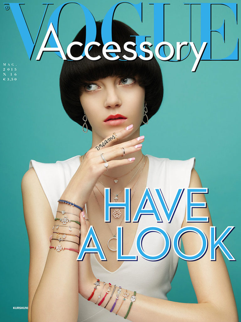 Vogue Accessory cover Photo by Lucia Giacani manicure Carlotta Saettone