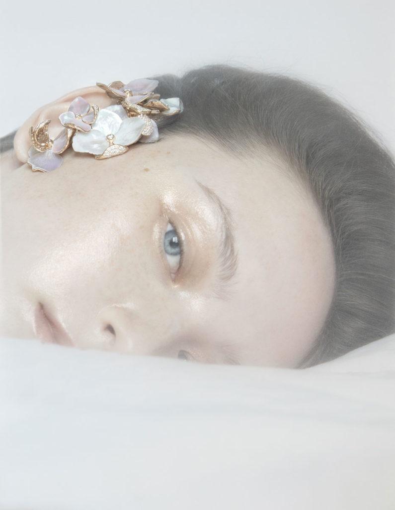 Vogue Ukraine photographer Sarah Bouchet make-up Hugo Villard