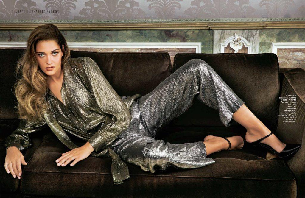 Ana Beatriz Barros stylist Ildo Damiano grazia italia