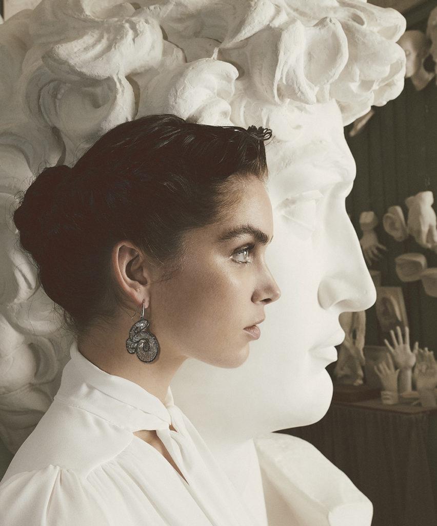 Grazia Italia - magazine - photographer Simone Falcetta  - Stylist Cleo Casini  - make up Karin Borromeo