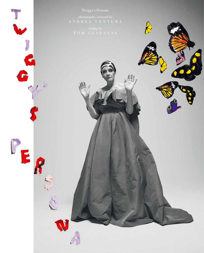 Twiggy Vogue Italia make up Nicky Tavilla Photographer Andrea Ventura stylist Tom Guinness