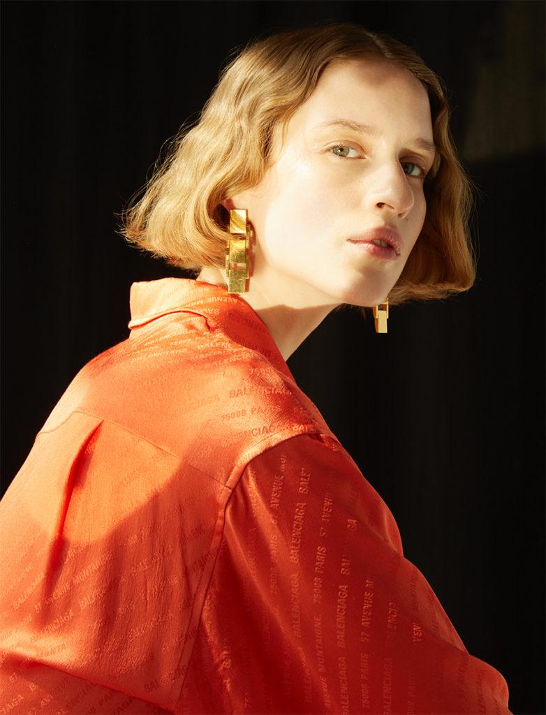 Stylist Magazine france photographer Mate Moro make-up Hugo Villard