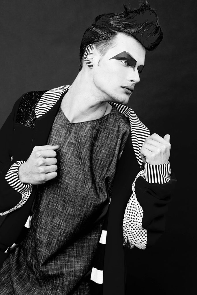 not just a label hair Stefano Gatti man editorial
