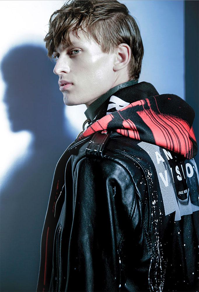 Chasseur magazine photographer Lorenzo Marcucci make-up Augusto Picerni