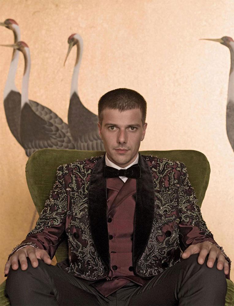 Style Magazine Domenico Diele hair Stefano Gatti celebrities man