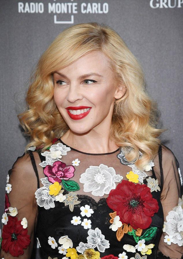 Kylie Minogue Bocelli & Zanetti Night hair Stefano Gatti woman celebrities