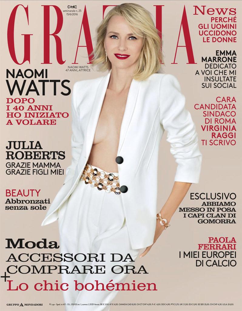 Grazia Italia Stylist Ildo Damiano Naomi Watts