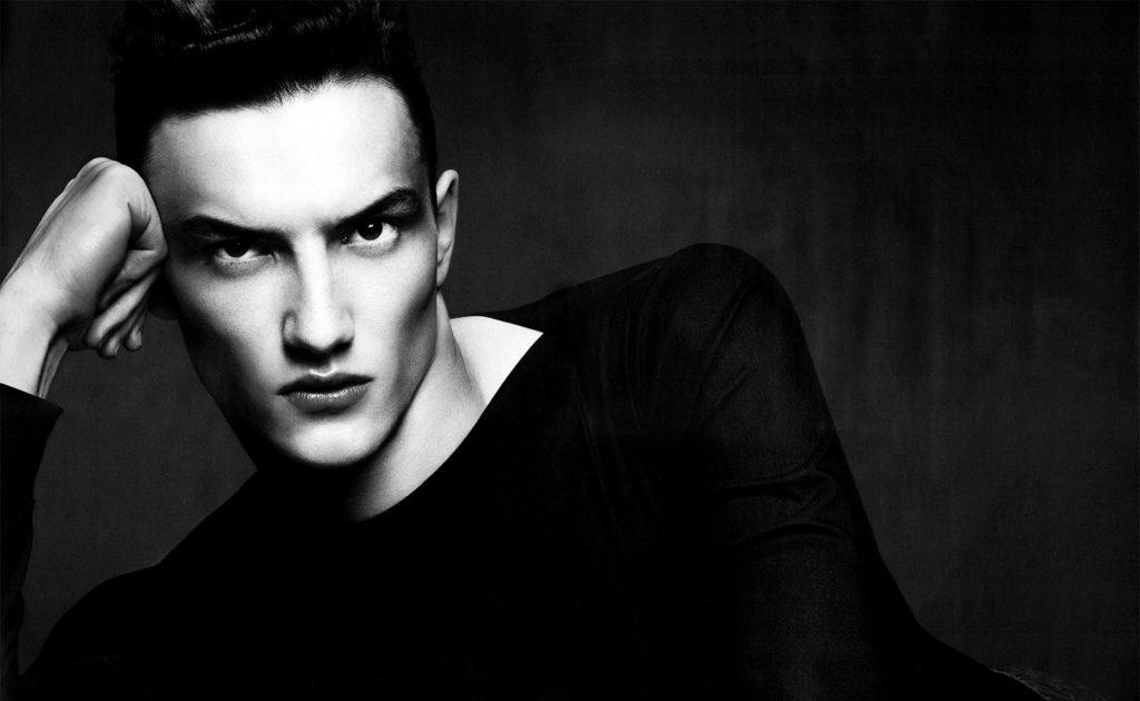 Numerò homme photographer Anthony Maule make-up Hugo Villard
