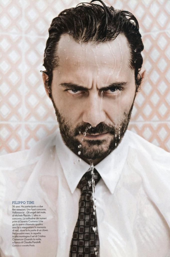 Filippo Timi stylist Ildo Damiano grazia italia