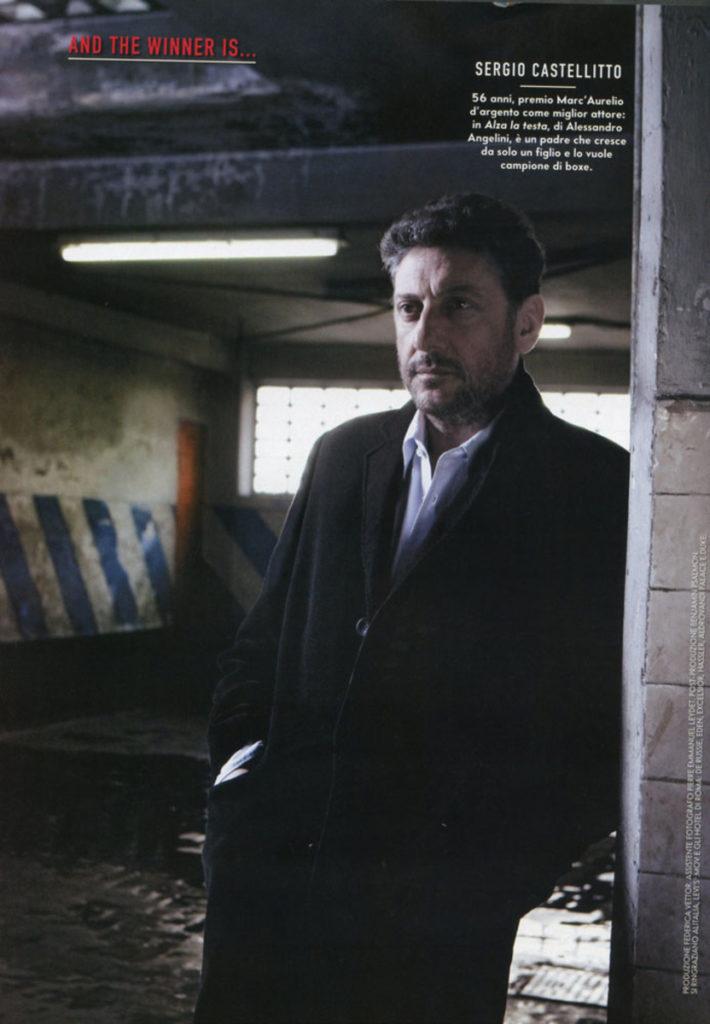 Sergio Castellitto stylist Ildo Damiano grazia italia