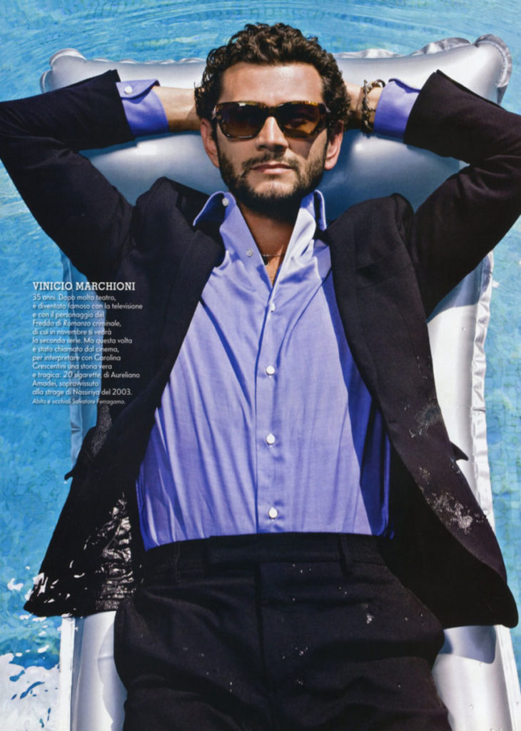 Vinicio Marchioni stylist Ildo Damiano