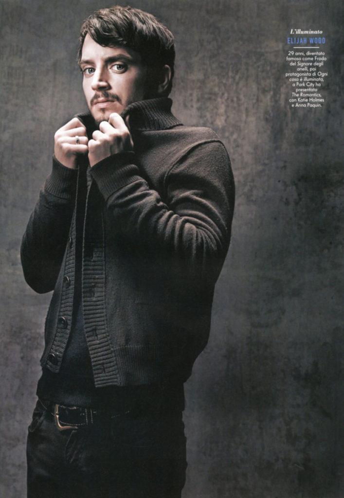 Elijah Wood styling Ildo Damiano