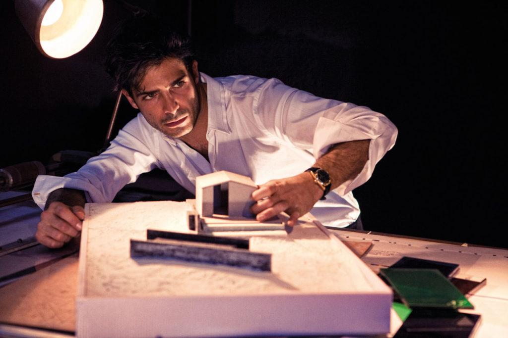 Marco Bocci stylist Ildo Damiano