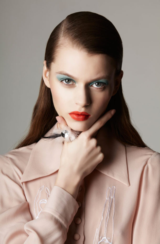 Marie claire china photographer Oskar Cecere make-up Augusto Picerni