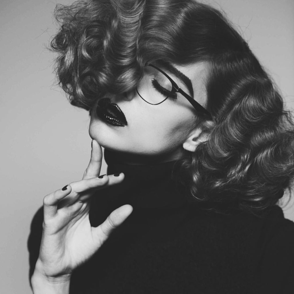 Lampoon magazine hair Stefano Gatti woman editorial