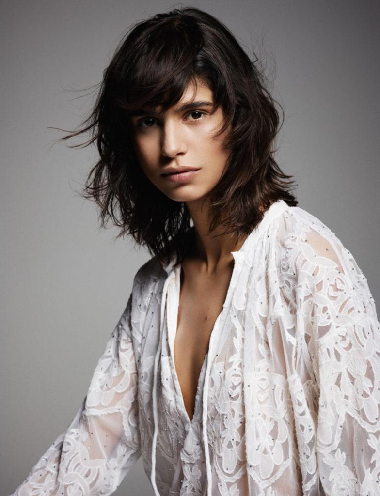 Amica Magazine photographer Letizia Ragno make-up Augusto Picerni hair Marco Minunno photo Letizia Ragno Mica Arganaraz
